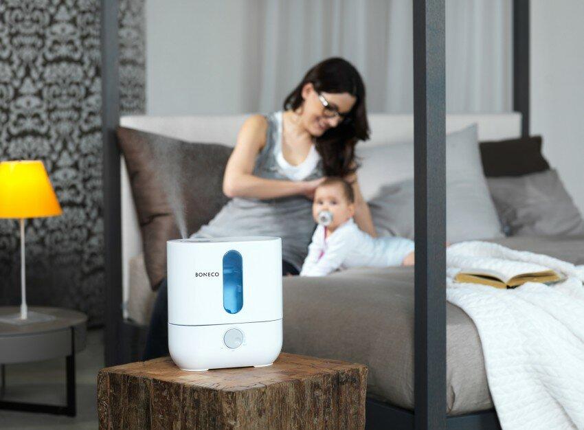 Рейтинг паровых увлажнителей воздуха