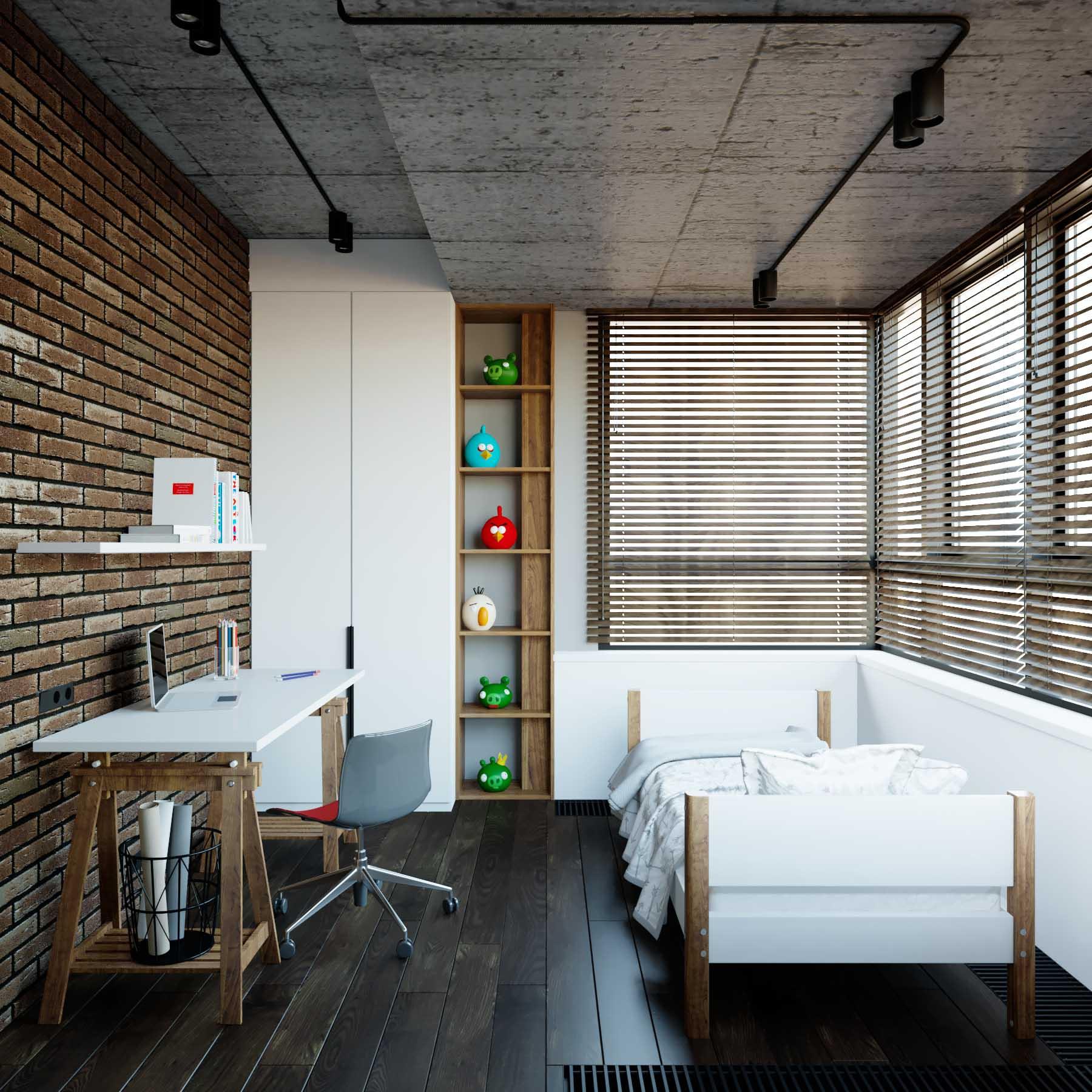 100 интерьеров кухни в стиле лофт, которые вдохновят вас на творчество