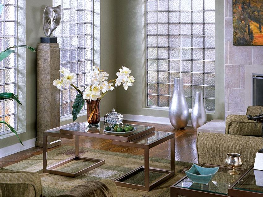 Красивый декор стекла в интерьере — 70 фото оригинального дизайна!