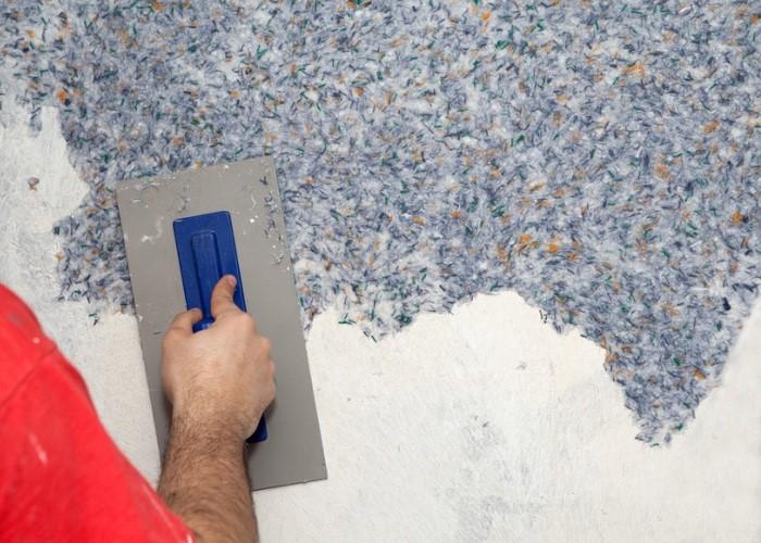 Отделка стен жидкими обоями: подготовка поверхности и нанесение