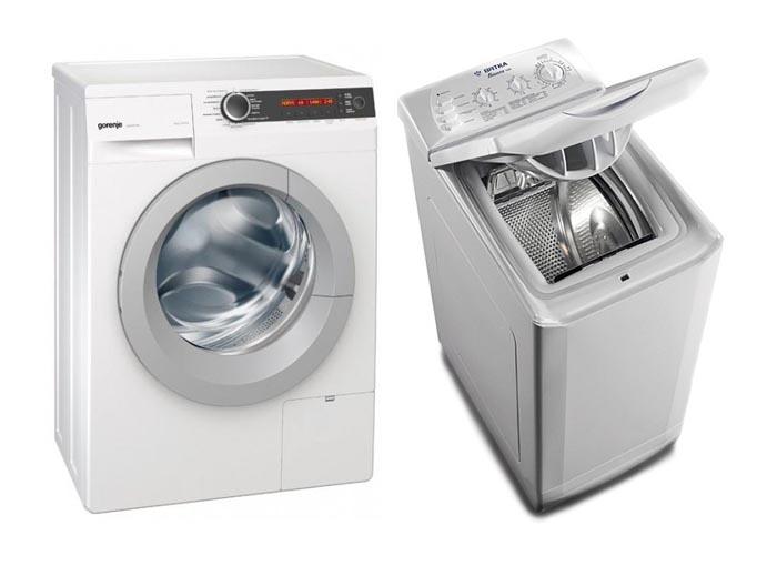 Какая стиральная машина лучше - с фронтальной или вертикальной загрузкой