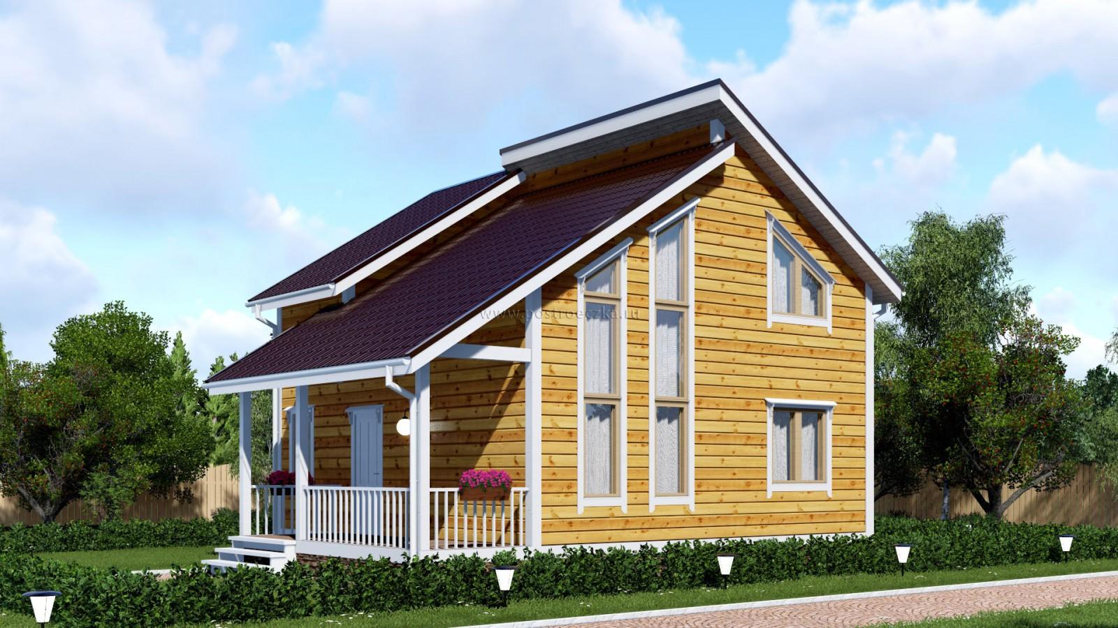 Какой дом лучше строить: из бруса или каркасный?