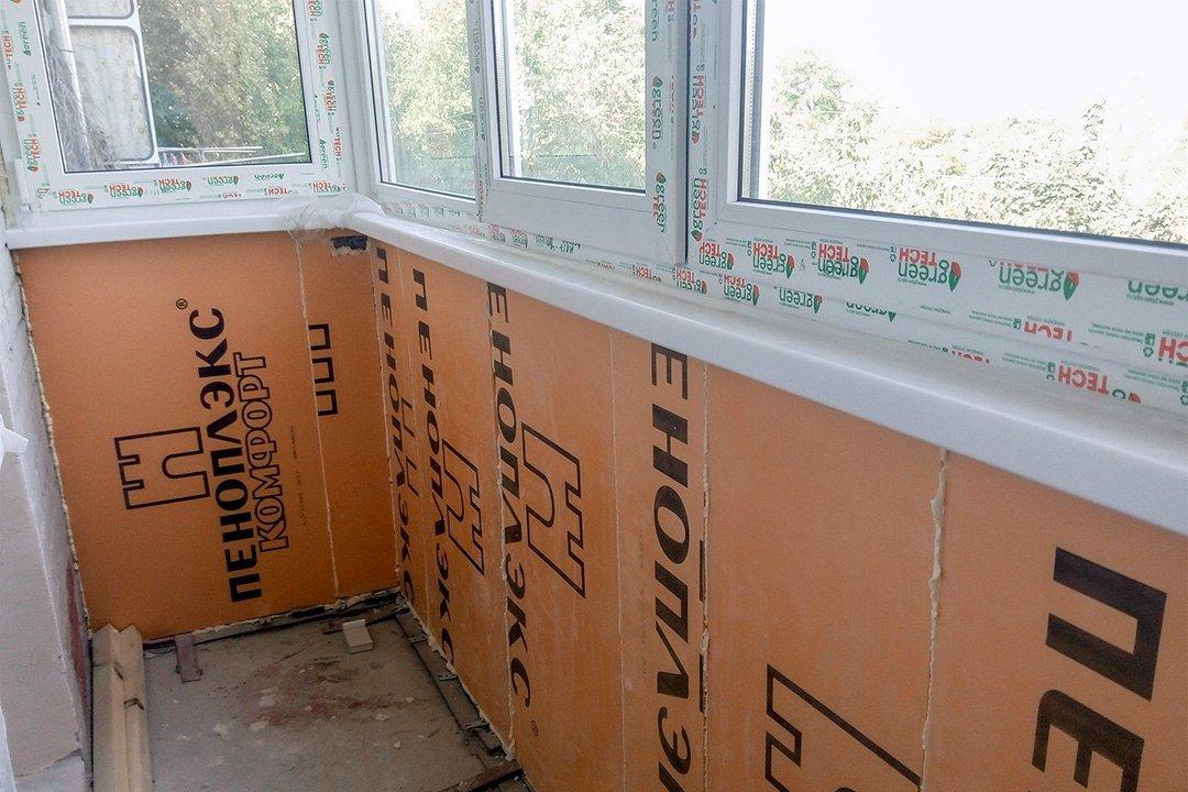 Утепление балкона (100 фото): пошаговая инструкция, советы и рекомендации мастеров