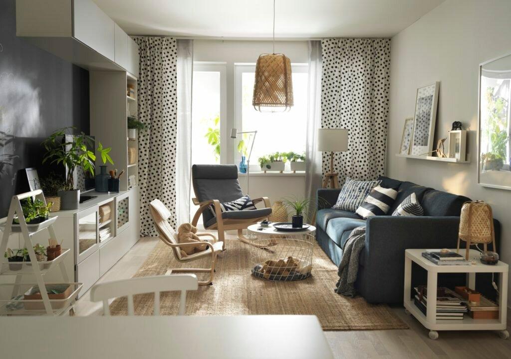 Этот загадочный скандинавский стиль — примеры дизайна однокомнатной квартиры