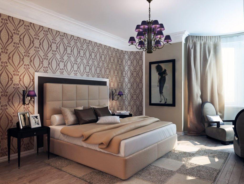 Обои для кабинета: материалы, цвета и способы оклейки стен