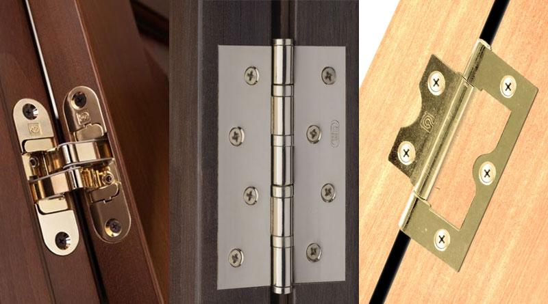 Петли дверные: виды и характеристика, плюсы и минусы, а также как правильно установить
