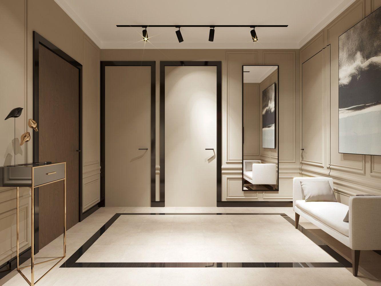 Стиль модерн в интерьере квартиры: современный дизайн ремонта для студии, фото