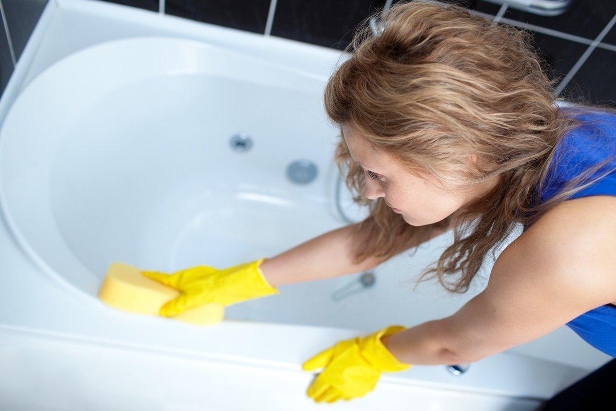 Чем мыть акриловую ванну - советы и хитрости