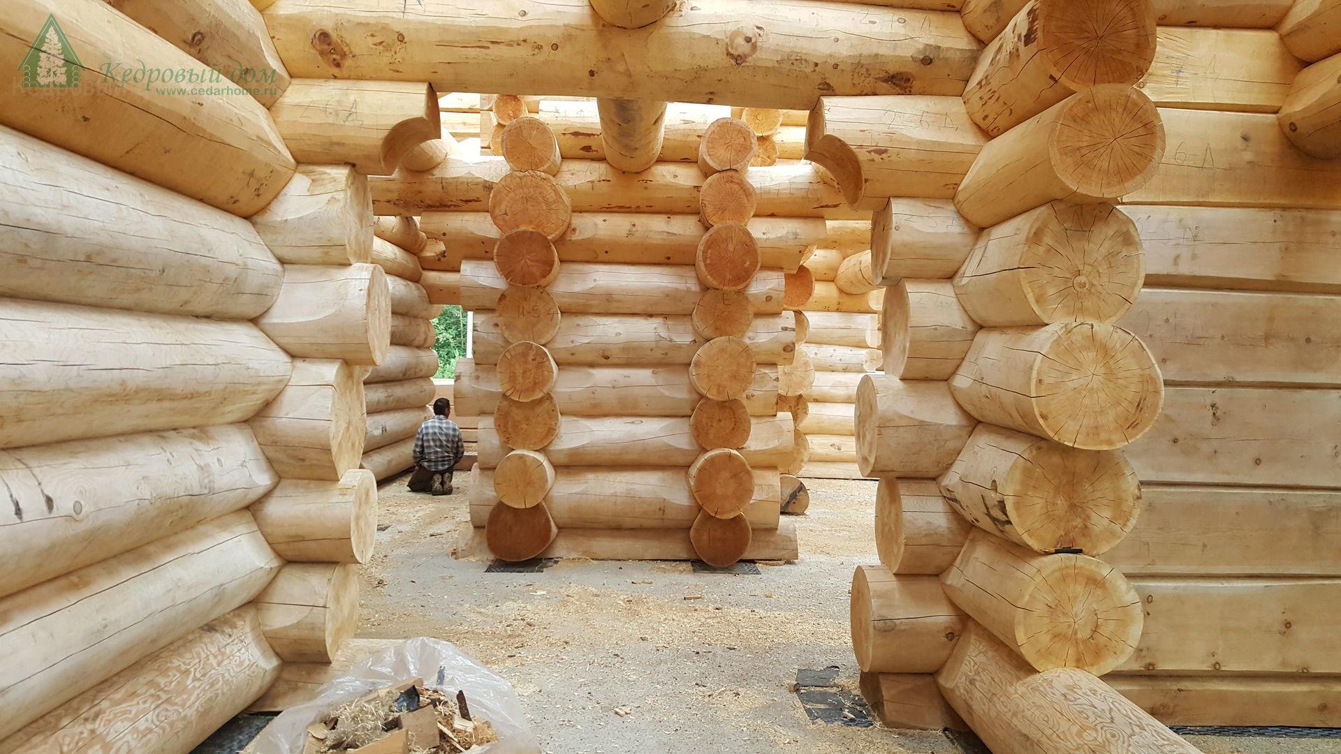 Минусы домов из оцилиндрованного бревна