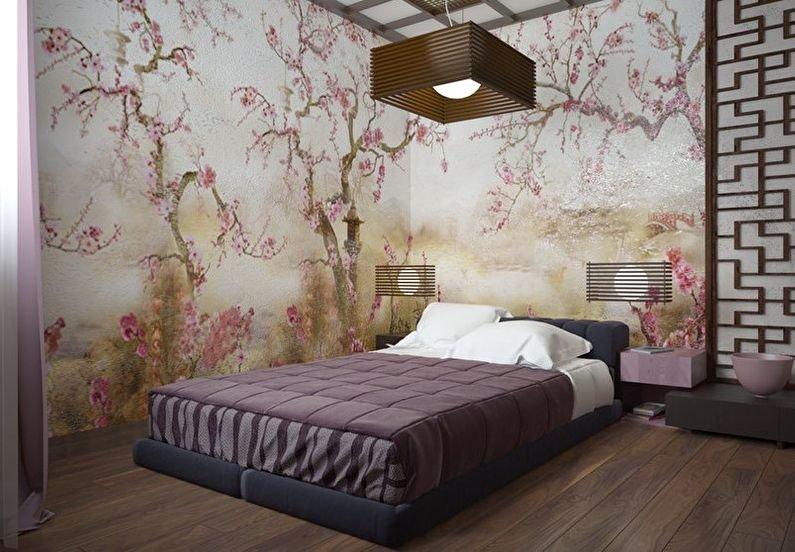Обои для спальни: 90 фото идеальных сочетаний и правил выбора отделочных материалов